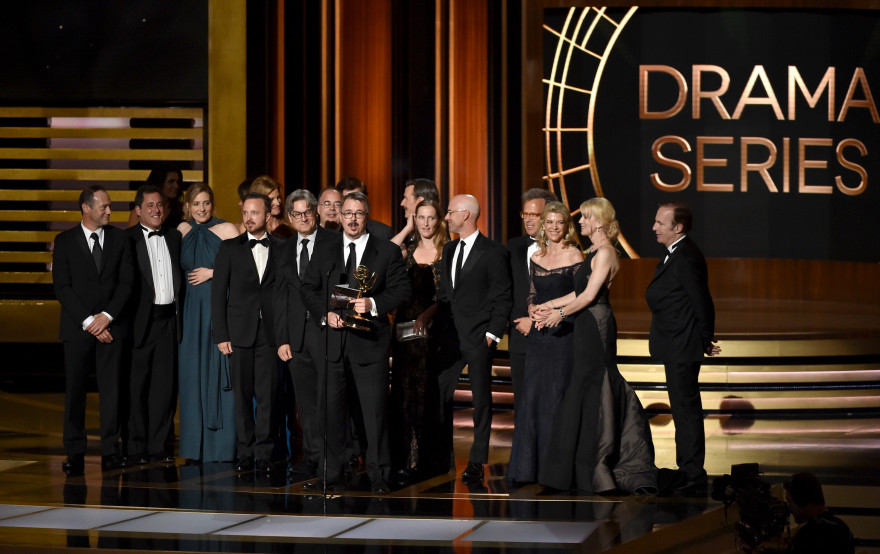 "La série ""Breaking Bad' sacrée lors des Emmy Awards 2014"
