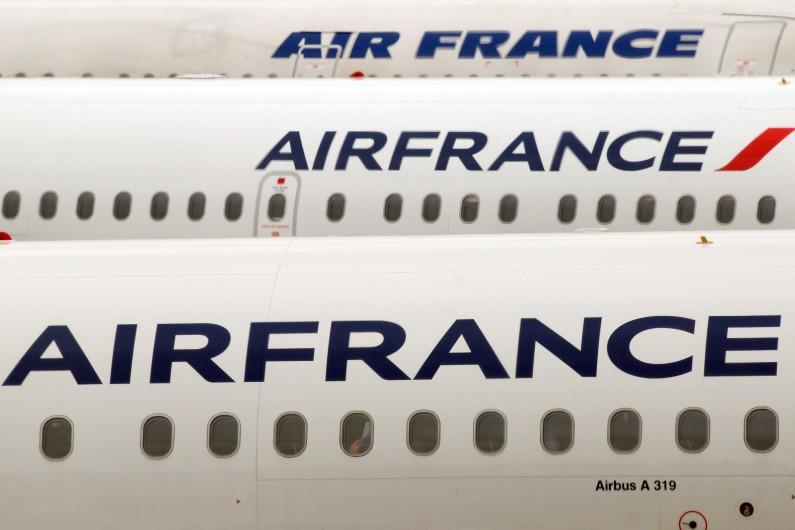 Des avions de la compagnie Air France (illustration)