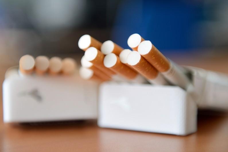 Un paquet de cigarettes (illustration)
