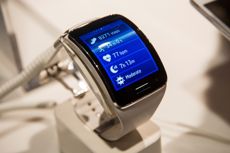 La nouvelle montre connectée de Samsung : la Galaxy Gear S