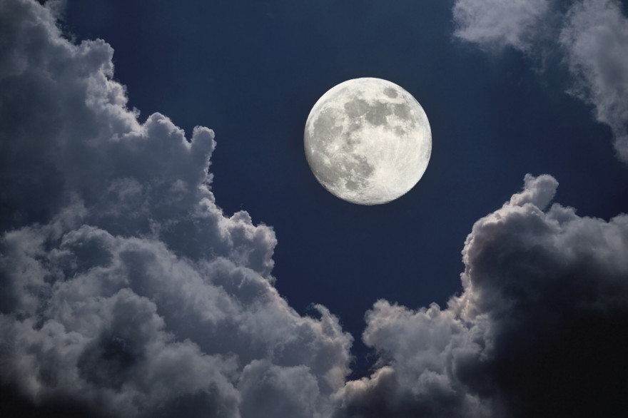 Une belle pleine Lune
