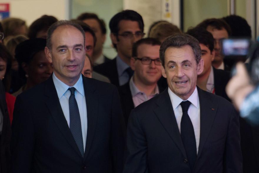 Jean-François Copé et Nicolas Sarkozy