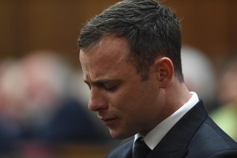 Oscar Pistorius lors de son procès à Pretoria le 11 septembre 2014.