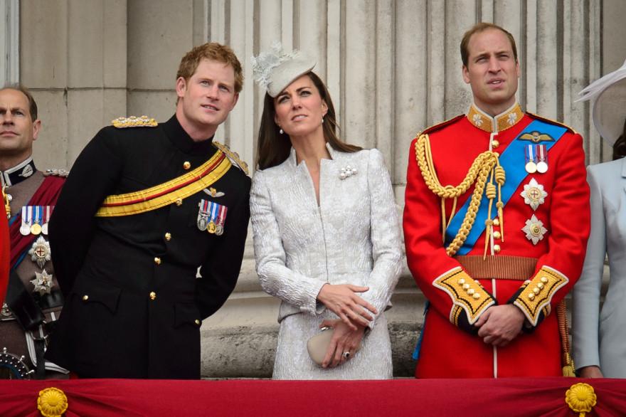 Le prince Harry considère Kate comme sa sœur. Ici en juin 2014