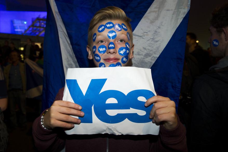 Rassemblement pro-indépendance, à Edimbourg, le 17 septembre. (archives)