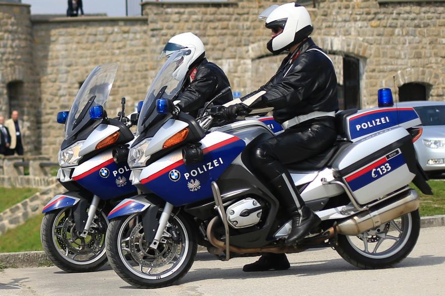 Officiers de police autrichienne, le 17 avril 2013. (archives)