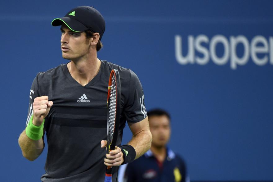 Andy Murray, le 3 septembre, à l'US Open. (archives)