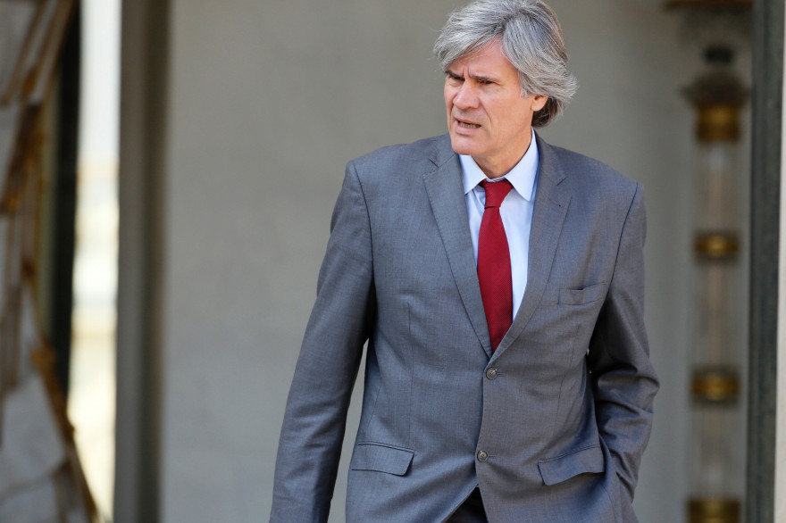 Le ministre de l'Agriculture Stéphane Le Foll le 10 septembre 2014 à l'Élysée . (archives)