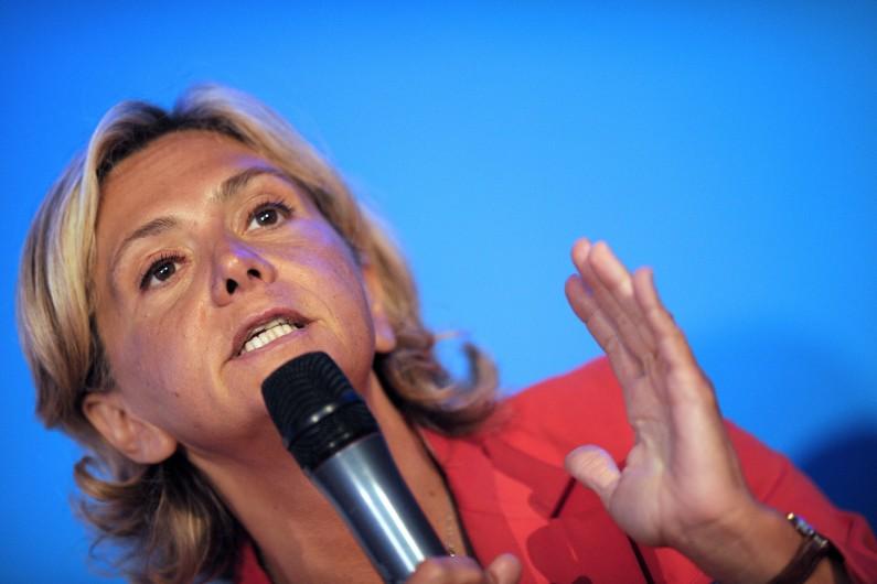 Valérie Pécresse à Rouez-en-Champagne, le 27 août 2014