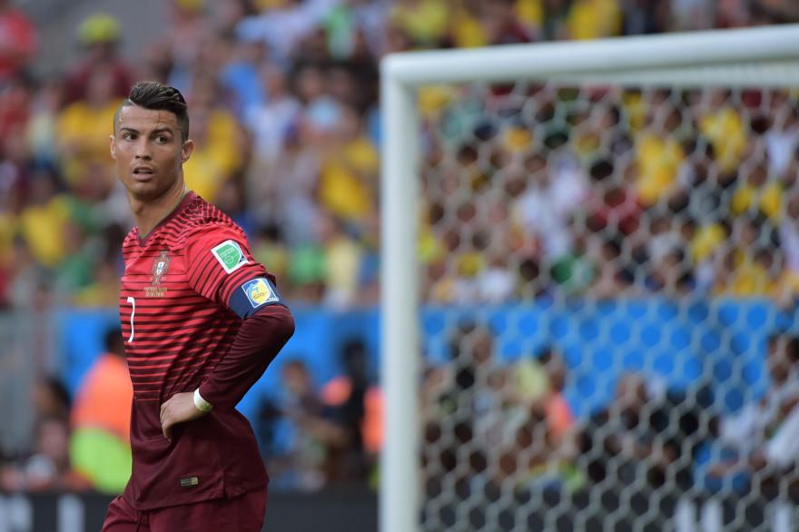 Cristiano Ronaldo sous les couleurs du Portugal lors de la Coupe du monde au Brésil