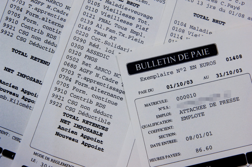 Le bulletin de paie sera simplifié à partir du 1er janvier 2015