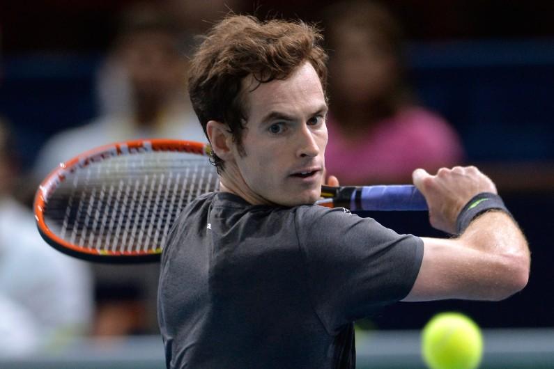 Andy Murray, le 30 octobre 2014, à Paris. (archives)