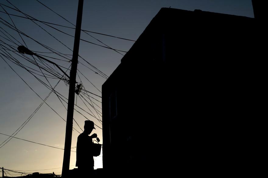 Le Bangladesh est totalement privé d'électricité, le 1er novembre 2014.