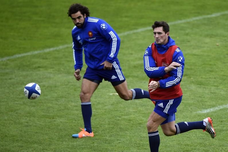 Alexandre Dumoulin, ici aux côté de Yoann Huget, sera titulaire face aux Fidji