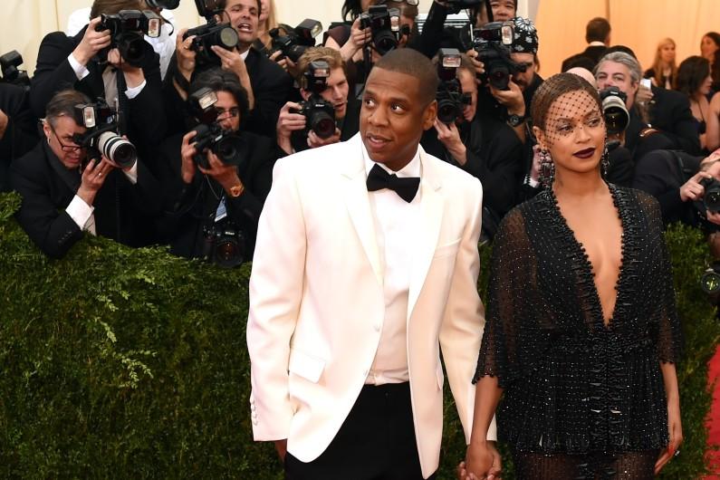 Jay-Z et Beyoncé, le 5 mai 2014, à New York. (archives)