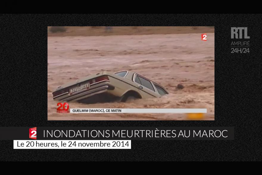 Des inondations meurtrières ont frappé le sud du Maroc ce week-end.