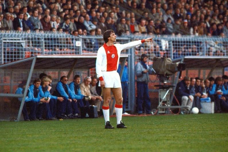 Johan Cruyff est resté une idole à Amsterdam et demeure un emblème du club hollandais