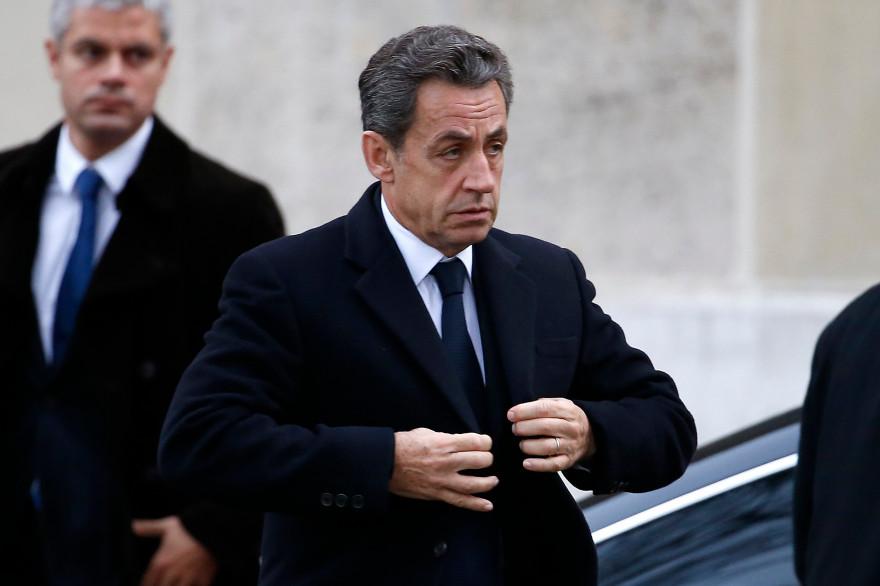 Nicolas Sarkozy à Paris, le 8 décembre 2014.