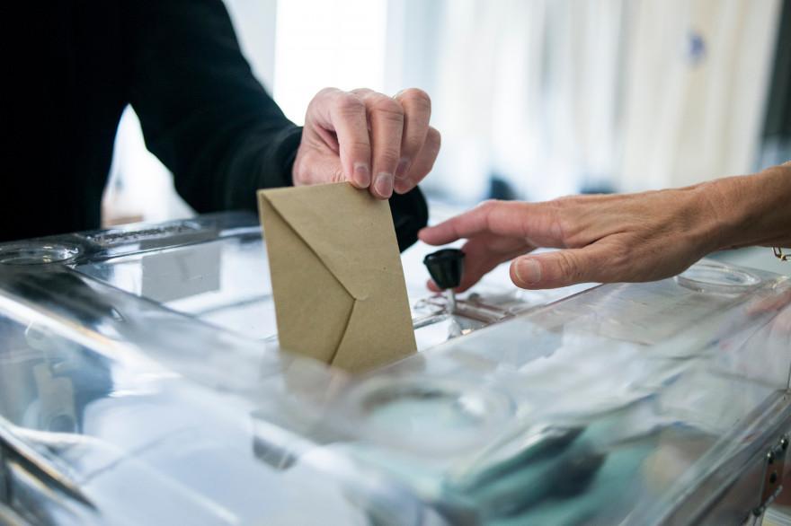 Une urne électorale. (Illustration)