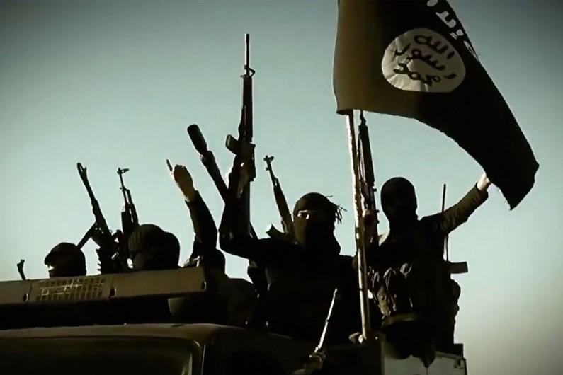 Des jihadistes de l'Etat islamique, en mars 2014. (archives)