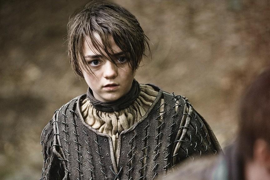 """Arya Stark sera au cœur de la saison 5 de """"Game of Thrones""""."""