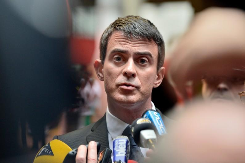 Manuel Valls le 23 décembre 2014 (archives).