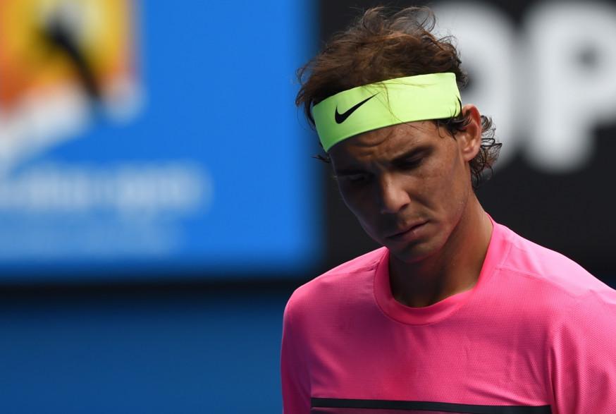 Rafael Nadal le 27 janvier 2015 à Melbourne