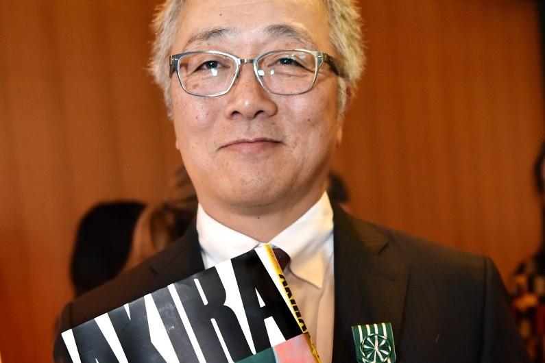 L'auteur de mangas japonais Katsuhiro Otomo, créateur d'Akira