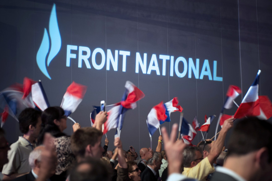 Un meeting du Front national à Marseille le 15 septembre 2013 (illustration).