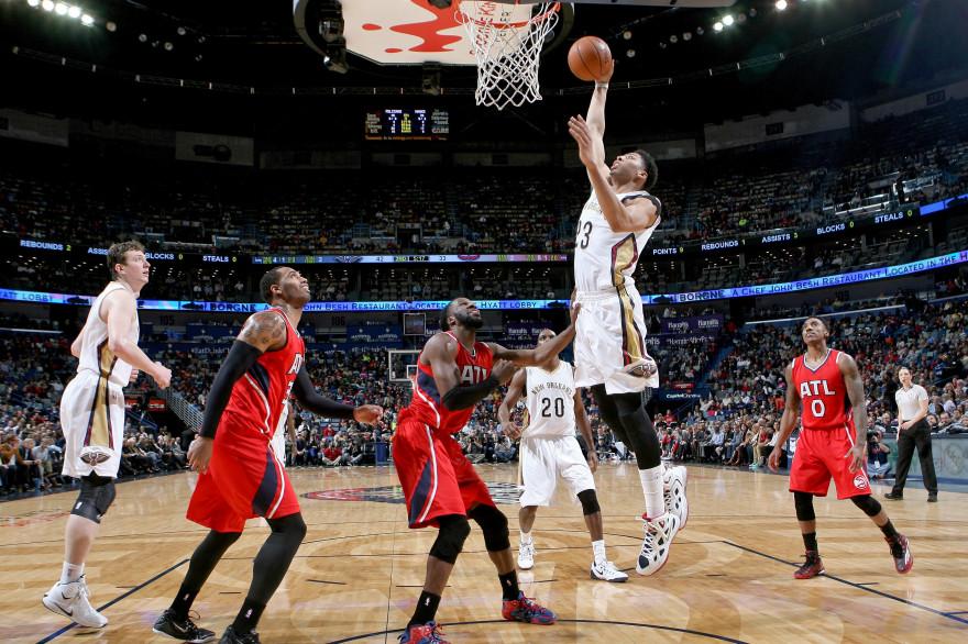 Anthony Davis a été l'artisan de la victoire des Pelicans avec 29 points marqués et 13 rebonds, lundi 2 février, à La Nouvelle-Orléans.