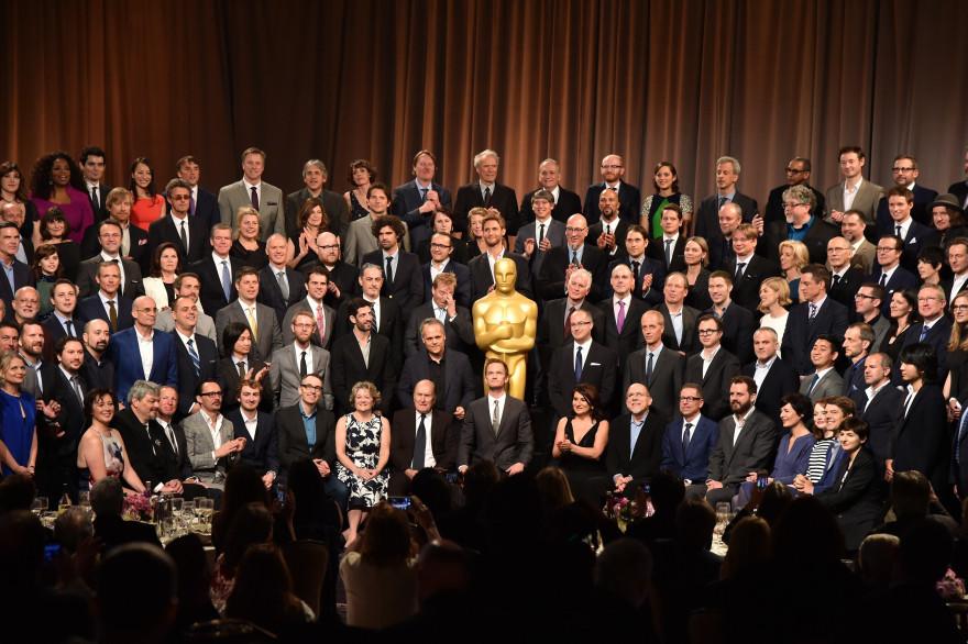 La traditionnelle photo de classe des nommés aux Oscars a été prise lundi 2 février à Los Angeles