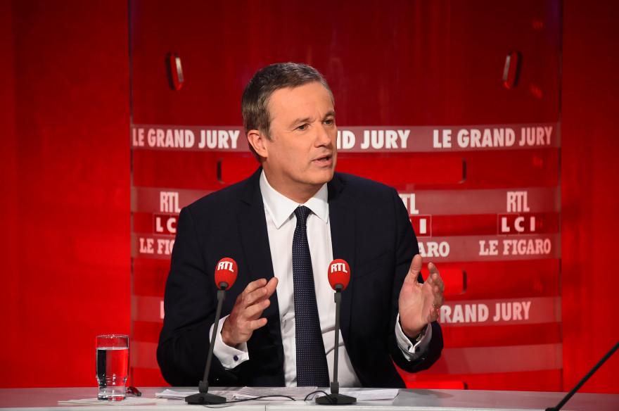 Nicolas Dupont-Aignan, invité du Grand Jury, le 22 février 2015