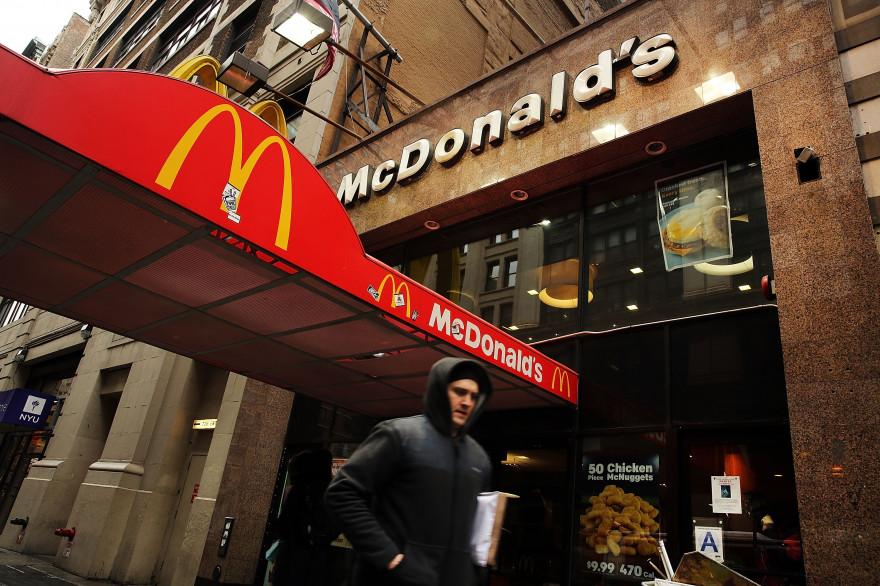 Une enseigne de McDonald's à New York (illustration).