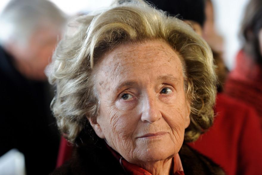 L'ex-Première dame, Bernadette Chirac, le 30 janvier 2014 à Lille (photo d'archives).