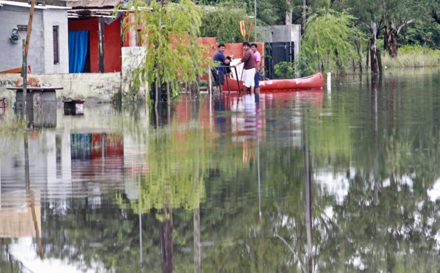 Les inondations affectent plusieurs provinces dans le centre de l'Argentine: