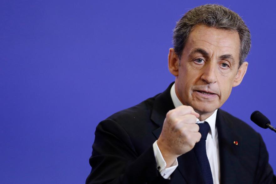 Nicolas Sarkozy le 7 mars 2015.