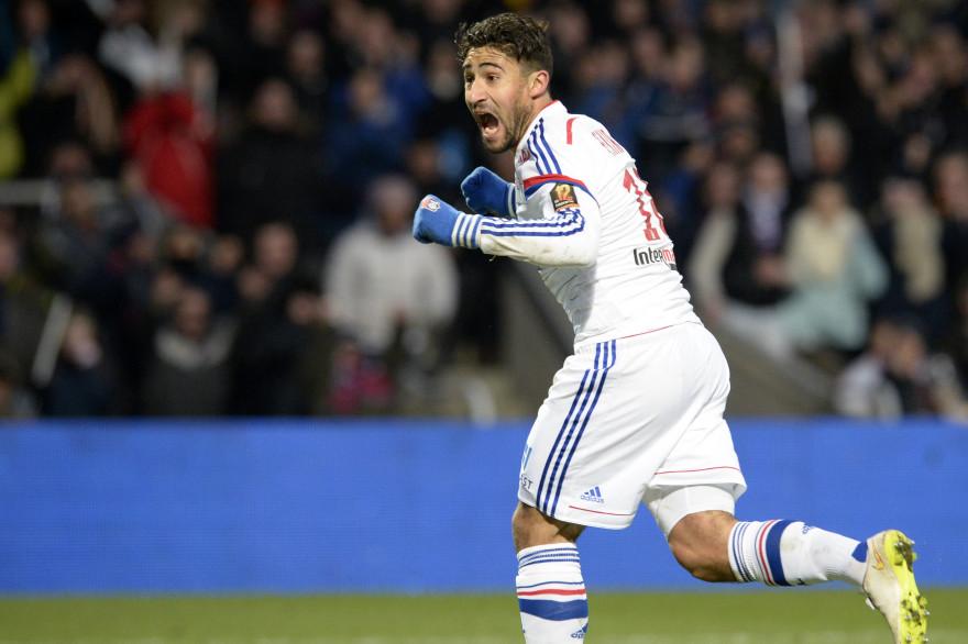 L'attaquant de Lyon Nabil Fekir le 22 février 2015 face à Nantes