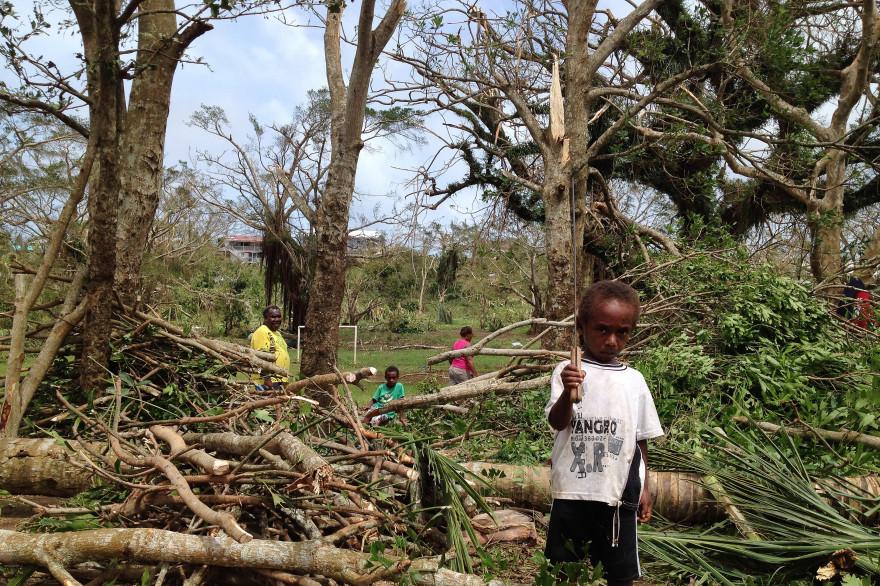 Vanuatu le 14 mars 2015 (illustration)