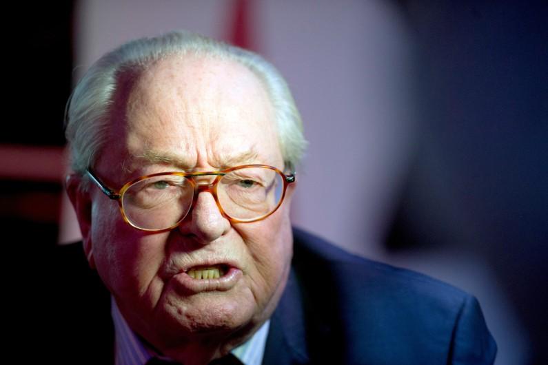 Jean-Marie Le Pen, le 25 janvier 2015. (archives)