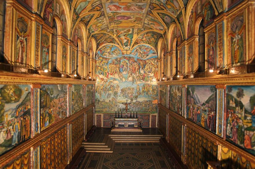 La Chapelle Sixtine ouvre aux sans-abri