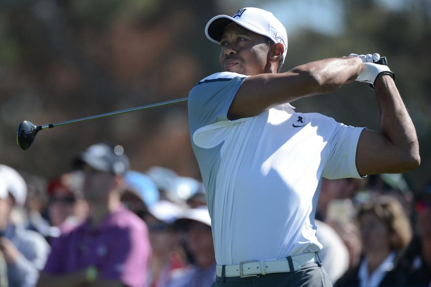 Tiger Woods en février 2015