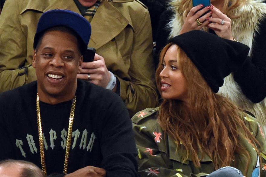 Jay-Z et Beyoncé le 15 février 2015 (archives)
