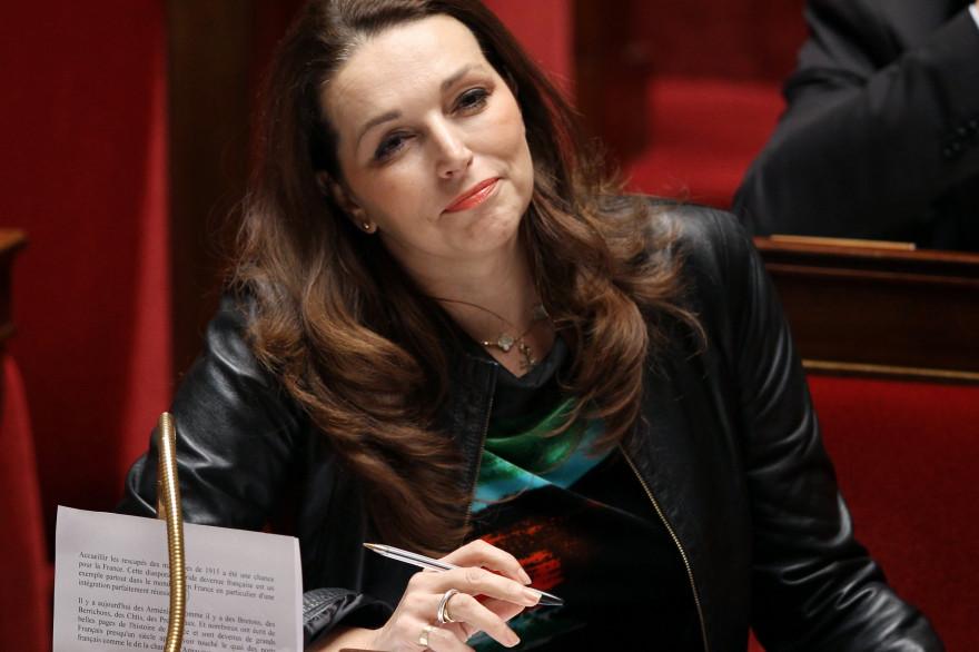 La députée UMP des Bouches-du-Rhône Valérie Boyer est en pointe sur les questions mémorielles