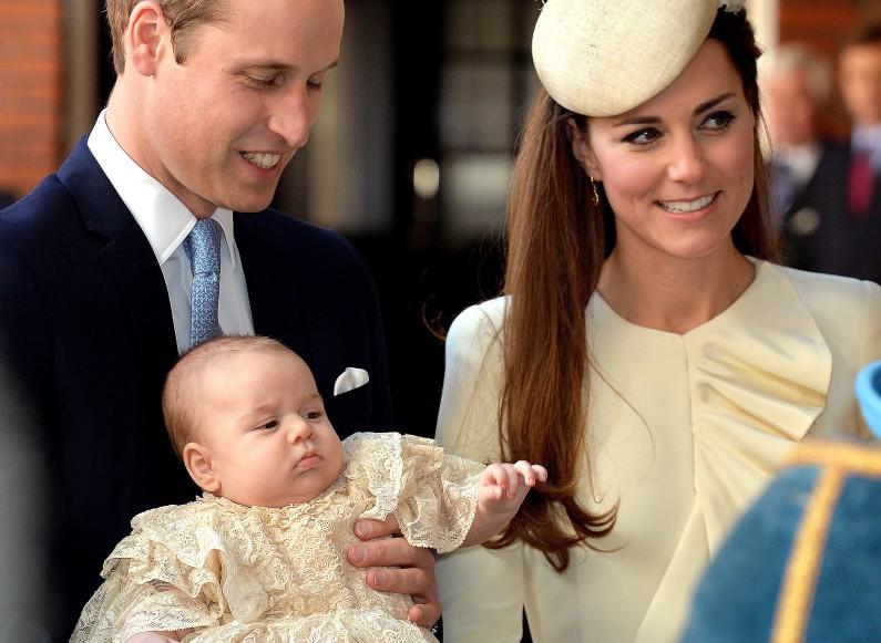 Le baptême en compagnie de la famille royale est un autre temps fort dans la vie de William et Kate.