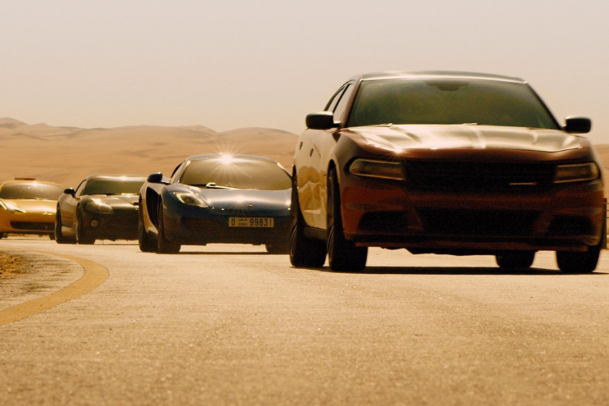 """""""Fast and Furious 7"""" cartonne"""