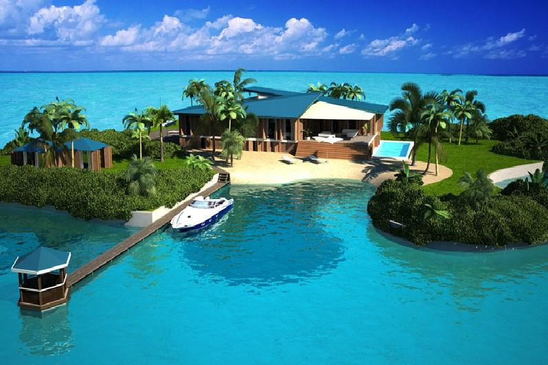 L'île flottante écologique Amillarah