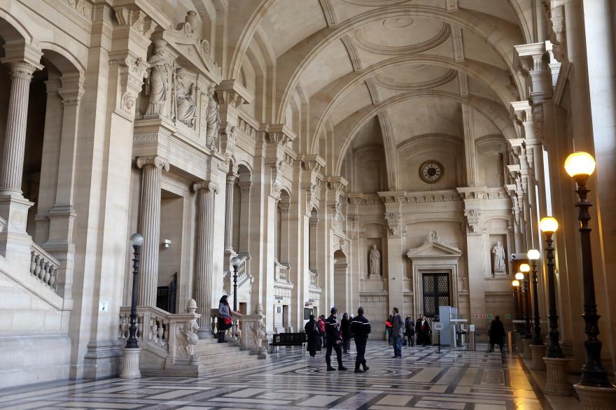 L'intérieur du Palais de justice de Paris en 2013 (illustration)