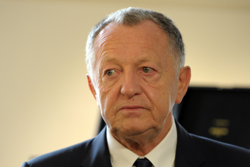 Jean-Michel Aulas en octobre 2014
