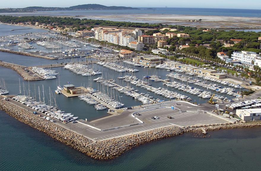 Le port de Hyères