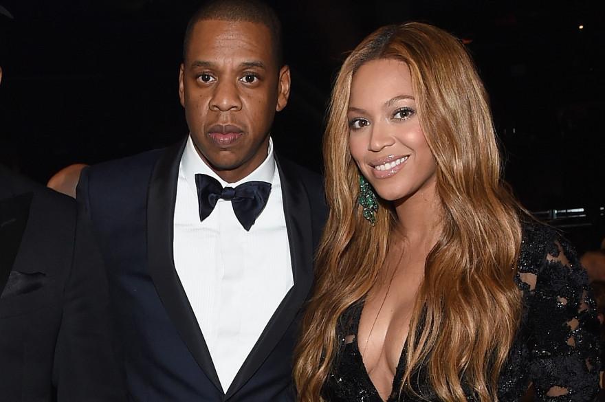 Jay-Z et Beyoncé aux Grammy Awards 2015